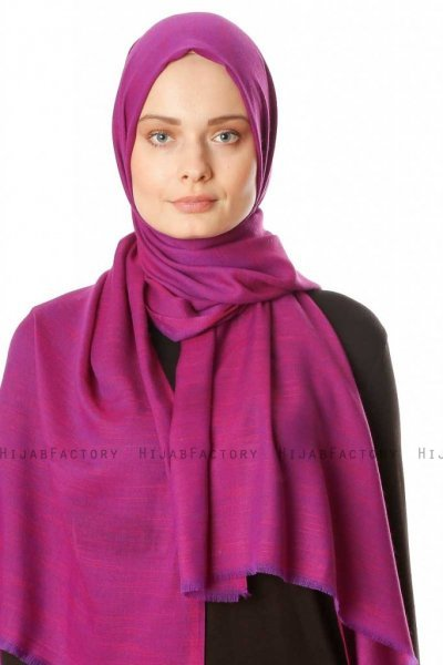 Esana - Purper Hijab - Madame Polo